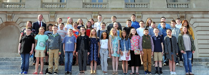 5th Grade's Trip to Frankfort
