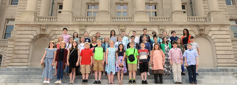 5th Grade's Trip to Frankfort on April 10th
