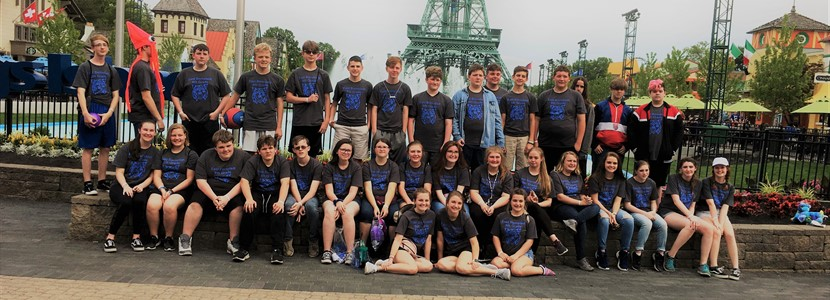 8th Grade's 2019 Spring Trip to Kings Island