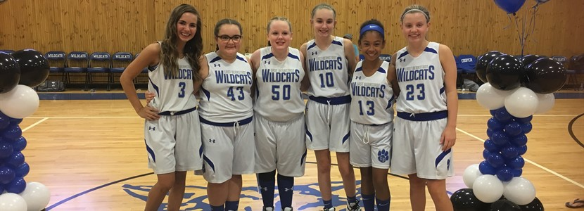 Lady Wildcats 8th Grade Night