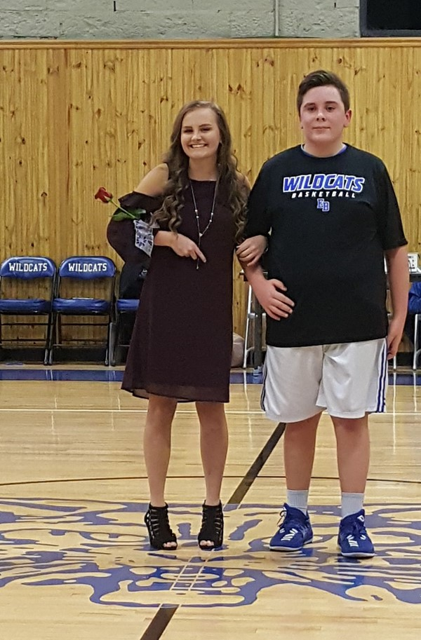 Middle School Basketball Homecoming- 2017