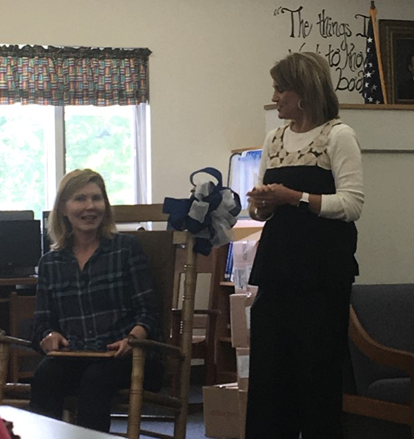 Stacy Greer retires after serving 27 years as a teacher for EBIS.