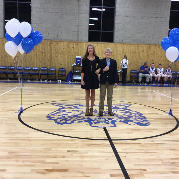 East Bernstadt Middle School Basketball Homecoming- 12/8/15