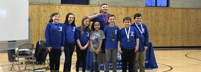 EBS Elementary Academic Team is 3rd place Overall District Winners