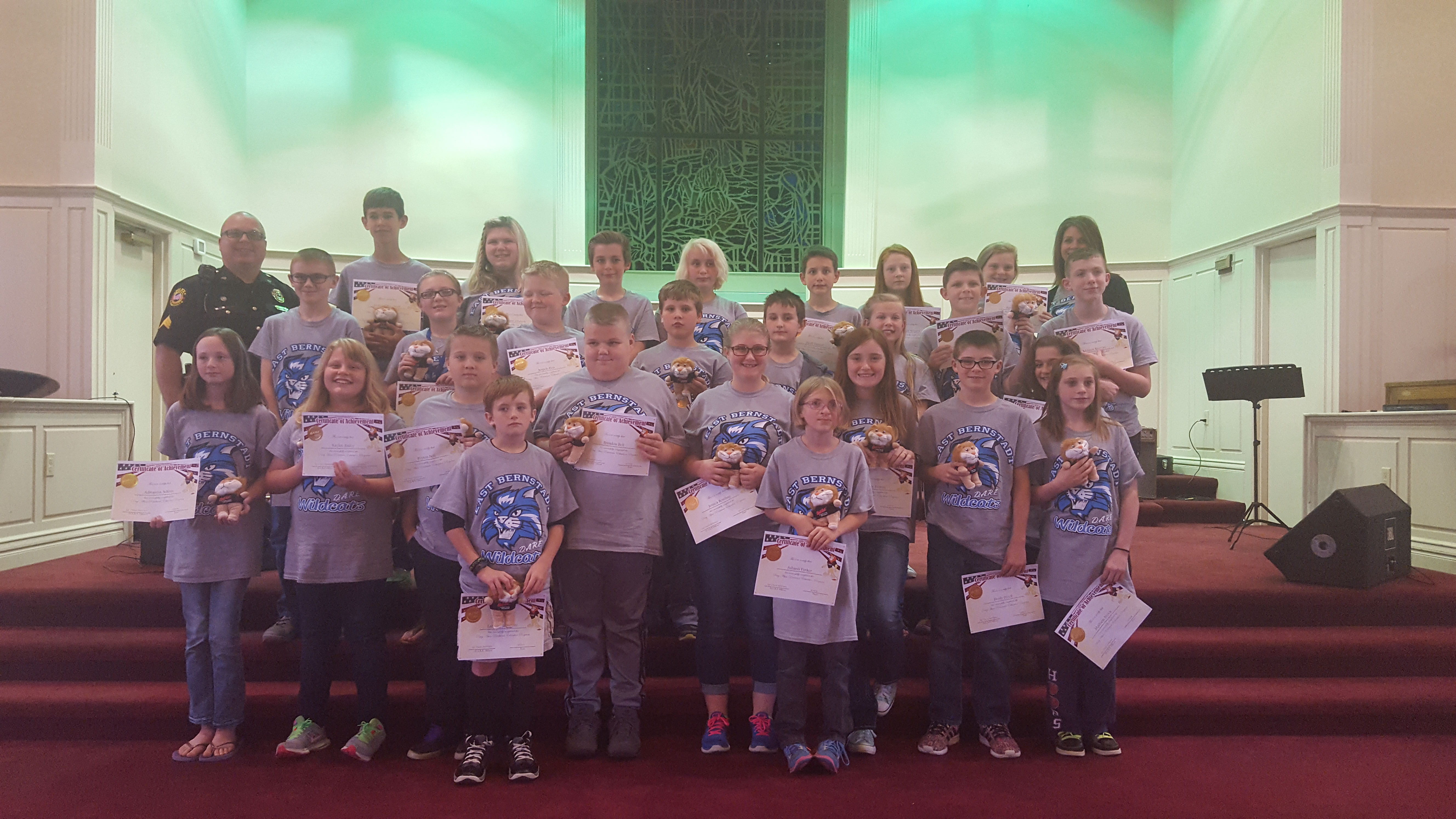 DARE Graduation- May 19, 2016