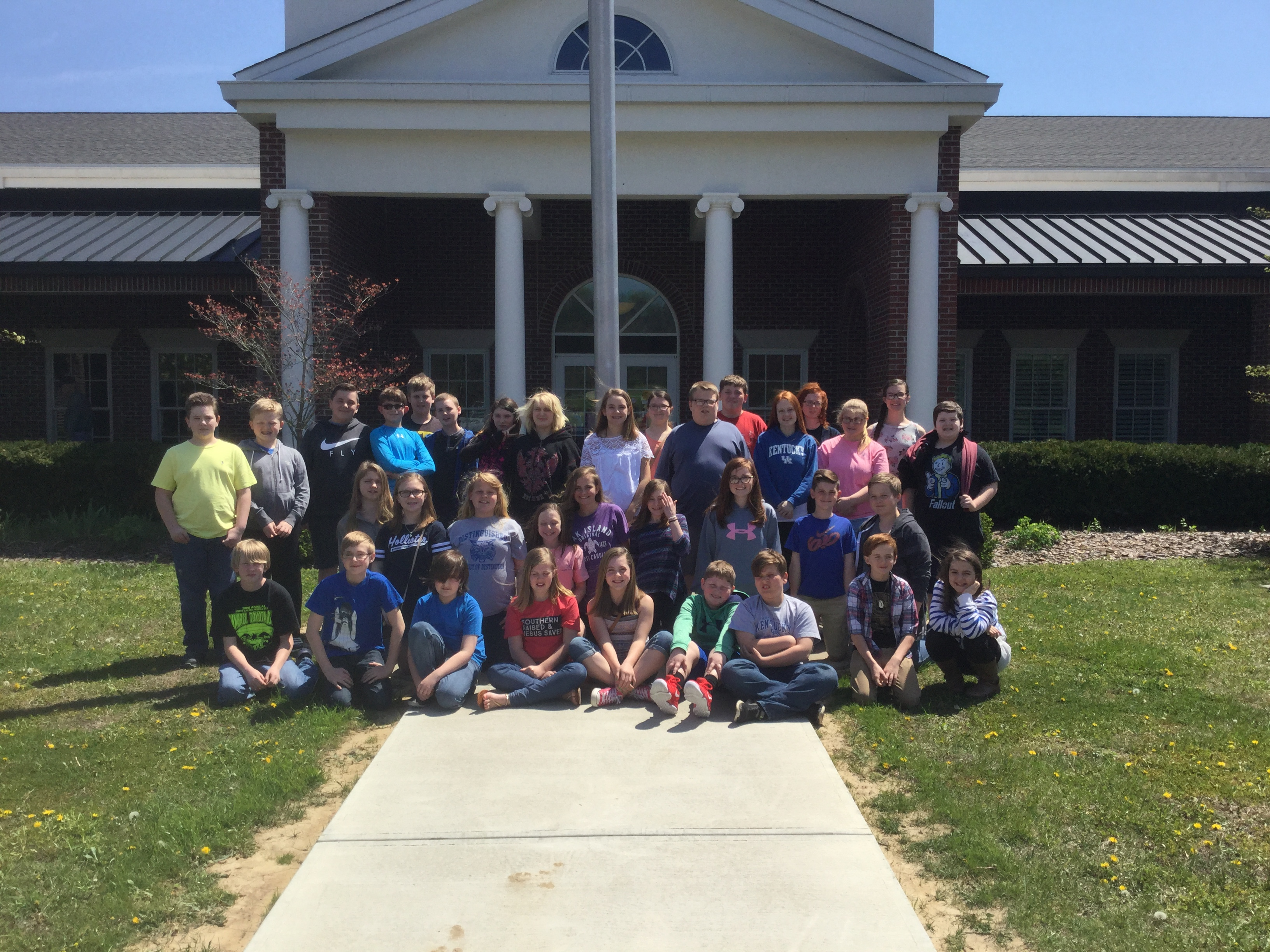 East Bernstadt sixth graders had the opportunity to go to the Laurel County Public Library, where they were able to listen to a stringed quartet play various genres of music.