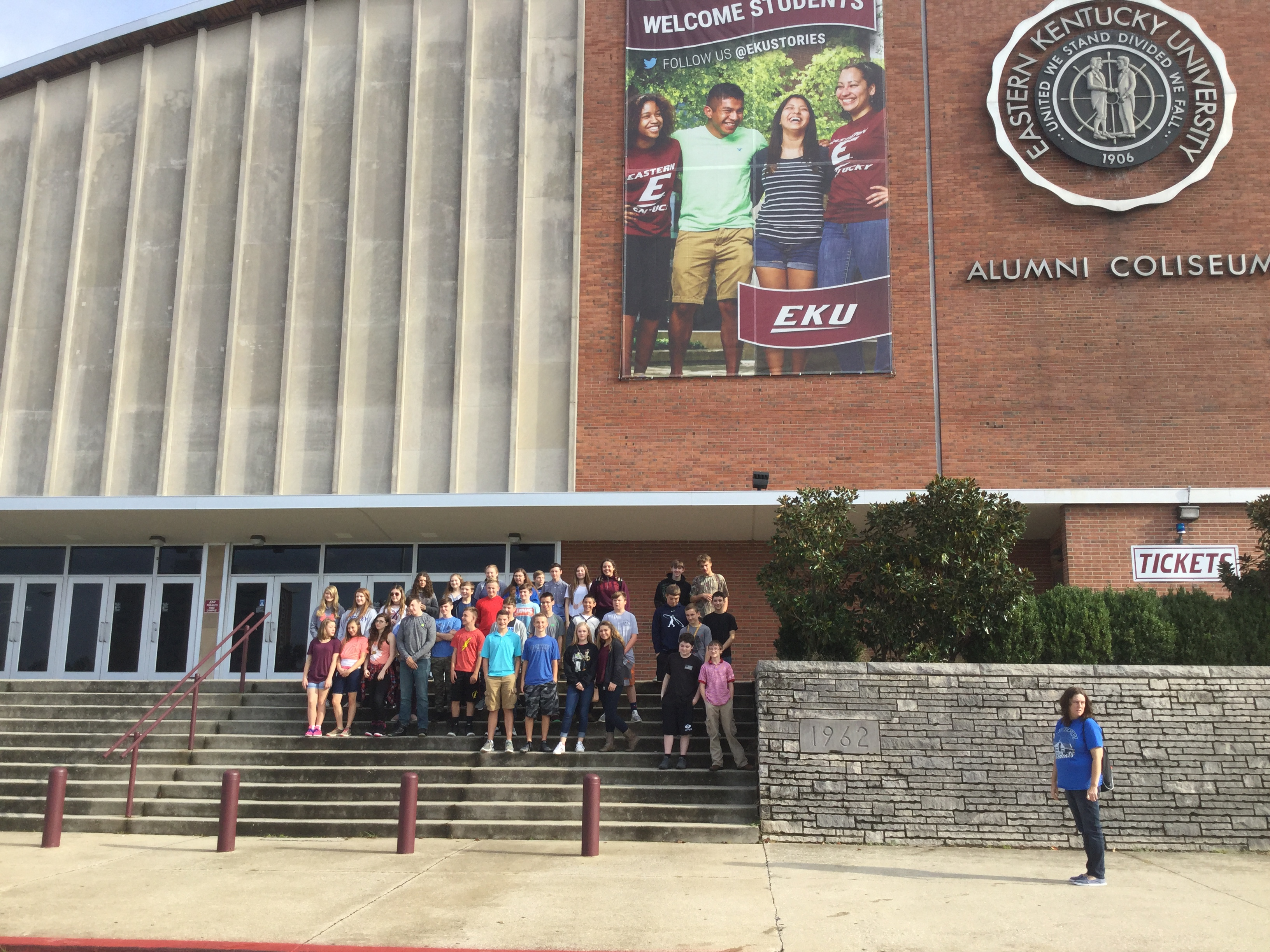 8th Grade Trip to EKU- 2017